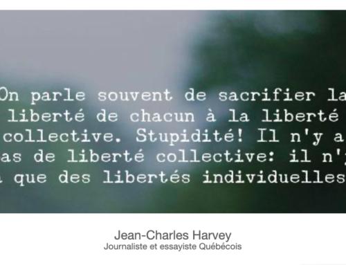 Liberté individuelle et société moderne