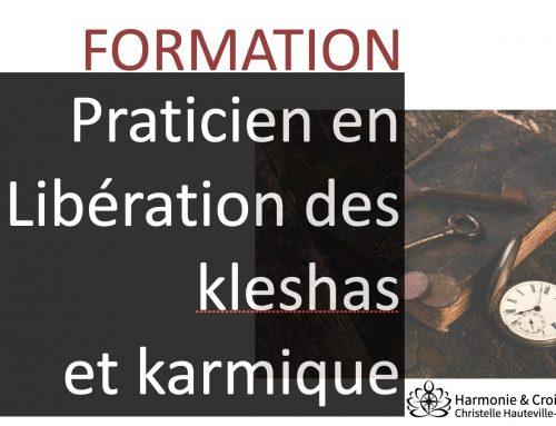 """""""Praticien en Libération émotionnelle des Kleishas et karmique"""" Promo 2021 / 2023 – Débute en octobre 2021"""